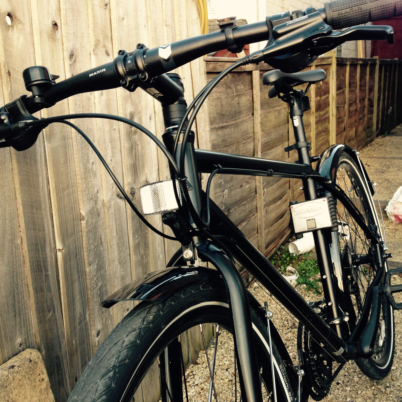 The Marin (photo of my new bike)